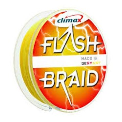 CLIMAX FLASH BRAID 100M-0.20MM JAUNE