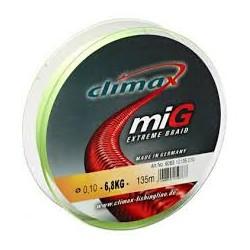 tresse climax Mig 8 0.12mm jaune-135 m