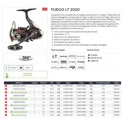 Moulinet Fuego LT 2020 Moulinet spinning catalogue Daiwa 2021 chez pecheur peche com