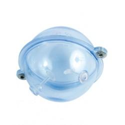buldo peche sphérique transparent taille 0 à 5 pecheur carnassier flashmer