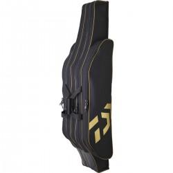 Fourreau Guitare 125 cm black-gold 3 Cannes Montées Daiwa FG125BG chez pecheur peche com