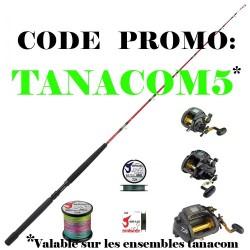 CODE PROMOTION TANACOM5 ensembles tanacom moulinet electriques peche grand fond