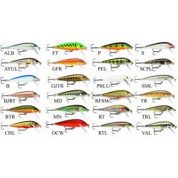 Rapala Countdown poisson nageur leurre chez pecheur-peche.com 5 cm 24 coloris
