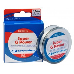 Nylon peche corps de ligne Garboline Super G Power 150 M Garbolino