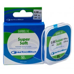 Nylon peche bas de ligne Garboline Super Soft 50 M Garbolino