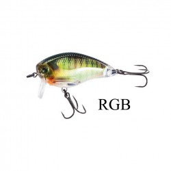 Leurre peche 3DR Wake Bait flottant yo-zuri poisson nageur pecheur peche RGB