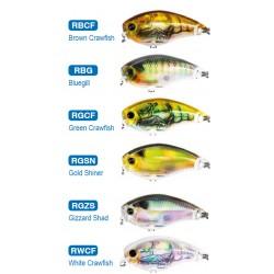 leurre peche poisson nageur 3de mid crank pecheur peche coloris