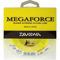 Nylon Megaforce Jaune Fluo 200 m Daiwa