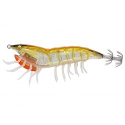 3D Hybrid Shrimp 7.5cm 12g 03-Gold Glow Savage Gear chez pecheur-pêche com