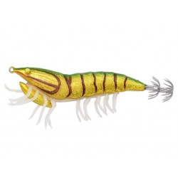 3D Hybrid Shrimp 7.5cm 12g 09 Green Back UV Savage Gear chez pecheur-pêche com