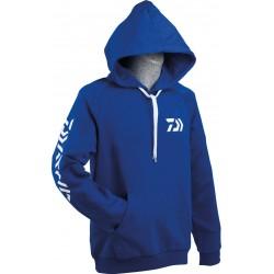 Sweat shirt capuche daiwa promotion peche chez pecheur-peche com coloris bleu