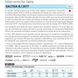 Moulinet peche Daiwa Saltiga BJ 17 peche forte chez pecheur-peche com catalogue Daiwa 2019