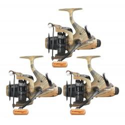 3 moulinets debrayable carpe Windreel 6001 FD PRCRG7003 Prowess chez pecheur-peche com