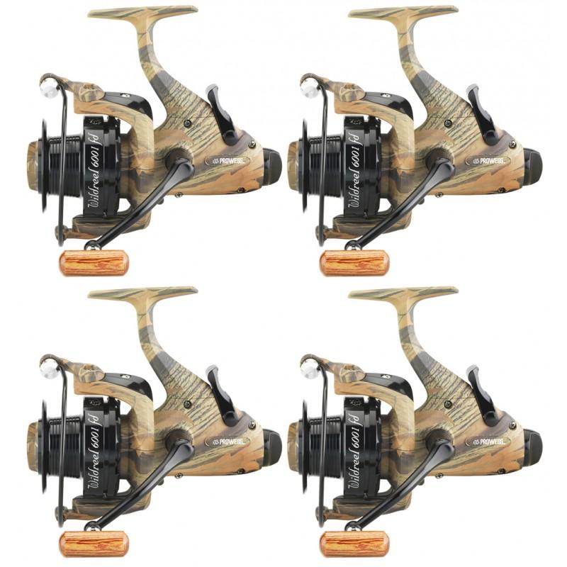 4 moulinets debrayable carpe Windreel 6001 FD PRCRG7003 Prowess chez pecheur-peche com
