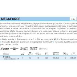 Megaforce 100 THS L Moulinet Daiwa MF100THSL chez pecheur peche com catalogue daiwa 2019
