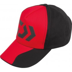 Casquette Daiwa Noire / Rouge CAP14AF acheter chez pecheur peche com