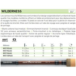canne mouche Wilderness Daiwa faible encombrement catalogue Daiwa acheter chez pecheur peche com