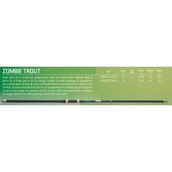 15-40 360 M Garbolino Canne BOMBETTE Zombie Trout