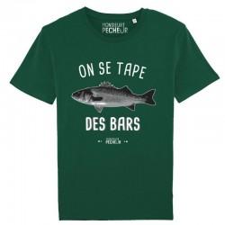 T-Shirt On Se Tape Des Bars Monsieur Pecheur achetez chez pecheur peche com vert