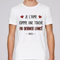 T-Shirt Comme Une Touche Au Dernier Lance Mr Pecheur