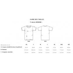 Monsieur pecheur t-shirt humour peche blague pecheur guide taille t-shirt homme chez pecheur-peche com