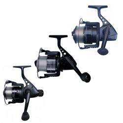 Promotion moulinet Lot De 3 Moulinets Tailles 40 / 50 & 60 Garnis Nylon pour toutes les pêches