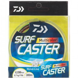 Nylon Daiwa Surfcaster 4 color 300 M Nylon surfcasting 4 couleurs 25 m pecheur peche