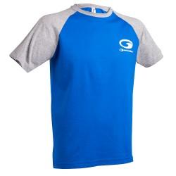 Promotion Tee Shirt Garbolino Bicolore Blue Et Grey GOMCF2010 acheter chez pecheur-peche com
