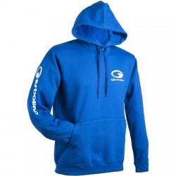 Promo Sweat A Capuche Garbolino Blue Edition  acheter chez pecheur-peche com