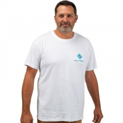 Tee Shirt Blanc Sunset acheter chez pecheur-peche com