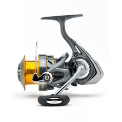 Promo Moulinet Spinning Daiwa Ninja 2500 SG silver gold acheter chez pecheur-peche com