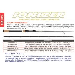 Ionizer 2.44 M 3-10.5 G INSF 802 ML IONIZER FINESSE-LIGHT GAME SPIN SAPRH800380-2ML catalogue Sakura 2020