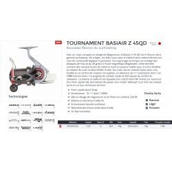 Moulinet Surfcasting Daiwa Tournament Basiair Z 45 QD A catalogue Daiwa 2020