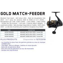 Moulinet Garbolino Gold Match Feeder fdm catalogue garbolino 2020 chez pecheur-peche com