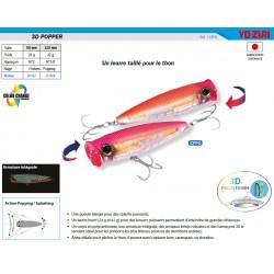 3d popper peche leurre pecheur mer yo-zuri coloris