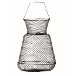 Bourriche 30 cm Metal Ronde Sert SEMAH0658000 chez pecheur peche com