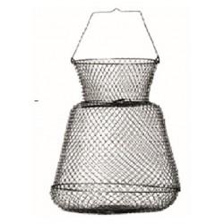 Bourriche 28x34cm Metal Ovale Sert SEMAH0659000 chez pecheur peche com
