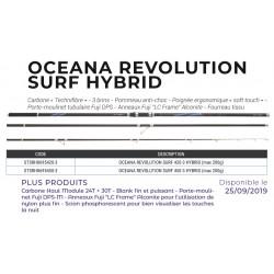 4m20 Oceana Revolution Surf Hybrid Max 200 G Canne Surfcasting Sunset STSRH8695420-3 acheter chez pecheur peche com