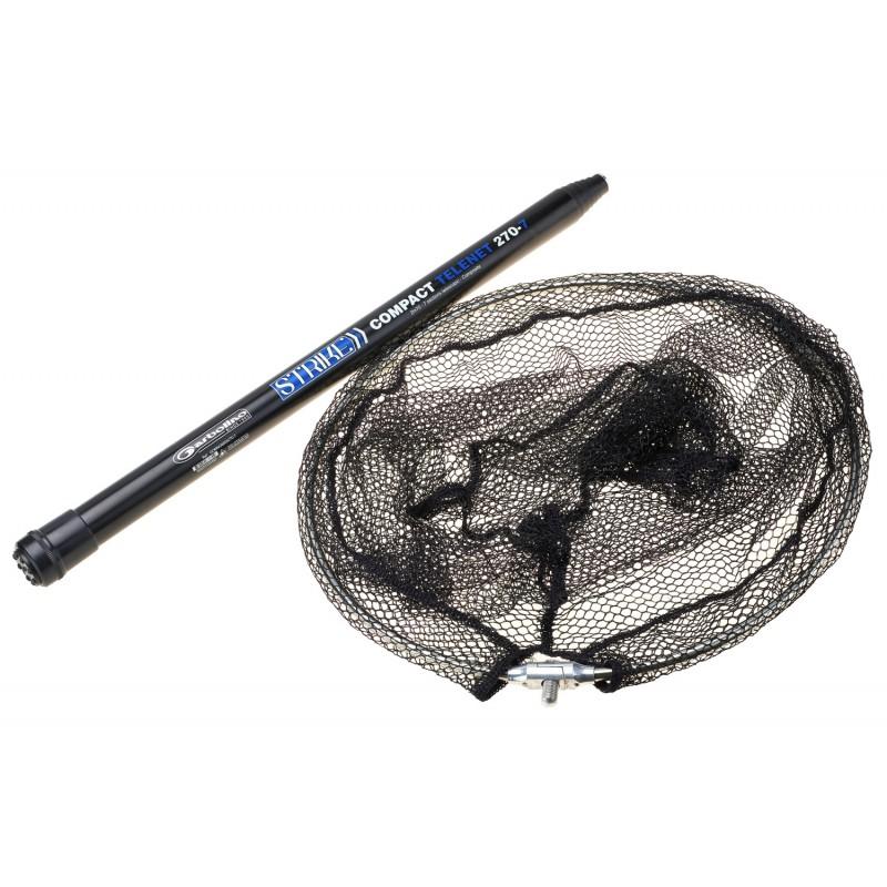 BOLUOBAO Epuisette De Peche T/élescopique Pliable 80-98cm Triangulaire L/ég/èr Portable Sac De Filet en Maille Fine Attrapeur pour Carpe//Truite//carnassier//mer