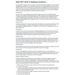 Saltist AGS II Seabass Edition Daiwa canne spinning leurre pecheur-peche com