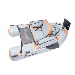 Float Tube peche Expedition 180 Gris/Orange L00004 Sparrow 2020 pecheur-peche.com
