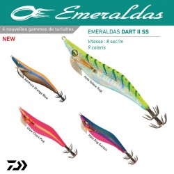 Turlutte Emeraldas Dart II SS Super Slow  Turlutte Daiwa nouveauté 2020