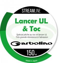 Nylon Streamline UL-MONO transparent 150 M Garbolino pêcheur appât naturel et peche spinning à l'ultra leger