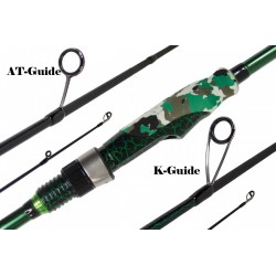 Canne spinning Maximus Rods Emissary anneaux K-Guide AT-Guide acheter chez pecheur-peche com