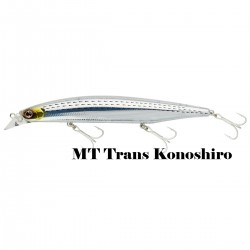 Poisson nageur Shoreline Shiner Z Vertice 14 cm 25.6 g flottant Daiwa nouveauté 2020 MT Trans Konoshiro