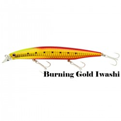 Poisson nageur Shoreline Shiner Z Vertice 14 cm 27.8 G Coulant Daiwa nouveauté 2020 Burning Gold Iwashi